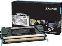 Preisvergleich Produktbild LEXMARK Toner schwarz C746,C748 12000 Seiten