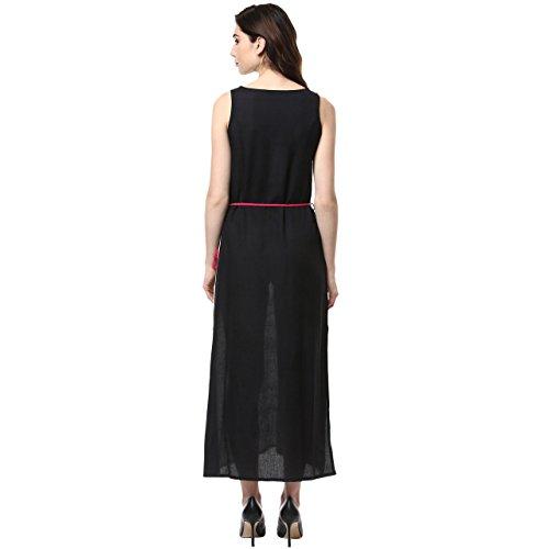 9a9962e6fc640 Buy Akkriti by Pantaloons Women s Rayon Maxi Dress on Amazon ...