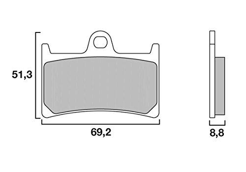 Plaquettes de frein Brembo 07YA2307
