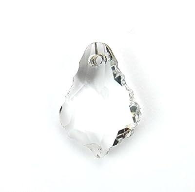 Lot de 10 Perles en Cristal Facetée