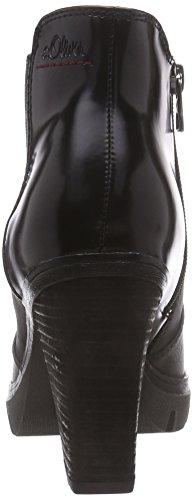 s.Oliver 25463 Damen Chelsea Boots Grau (Graphite 206)