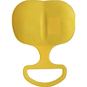 SULOV Kinder aerodynamische Kunststoff Schneeschieber, Gelb, One Size