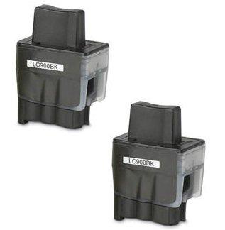 Prestige Cartridge LC900 / LC950 2-er Pack Druckerpatronen für Brother DCP-110C, DCP-115C, DCP-117C, DCP-120C, DCP-310C, DCP-310CN, DCP-315C, DCP-315CN, DCP-340CN, DCP-340CW, Fax-1835, Fax-1835C, Fax-1840C, Fax-1940, Fax-1940C, Fax-2240, Fax-2240C, Fax-310, MFC-210C, MFC-215C, MFC-3100, MFC-3240C, MFC-3240CN, MFC-3340CN, MFC-3342CN, MFC-410CN, MFC-420CN, MFC-425CN, MFC-430CN, MFC-5440CN, MFC-5540CN, MFC-5840CN, MFC-610CN, MFC-620CN, MFC-640CN, MFC-640CW, MFC-820CW, schwarz