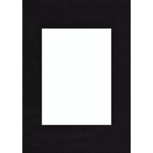 Hama Passepartout, Smooth Black, 30 x 40 cm Negro