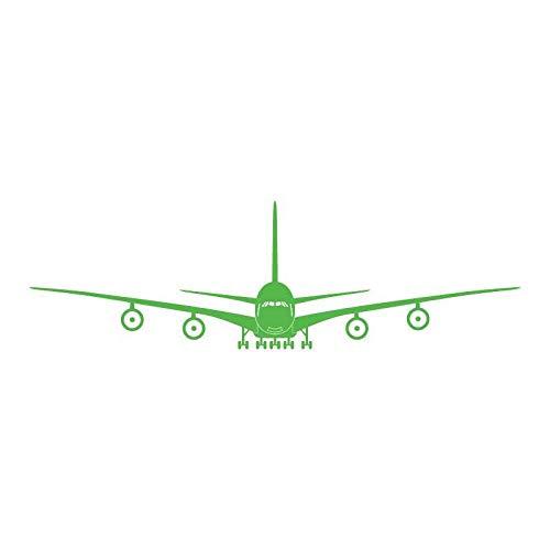Explosion Modelle Große Flugzeuge Wandaufkleber Schlafzimmer Wohnzimmer Kinderzimmer Hintergrund Wanddekoration Aufkleber Umweltfreundlich Abnehmbare Grün 45 Cm * 150 Cm * 1 Stücke
