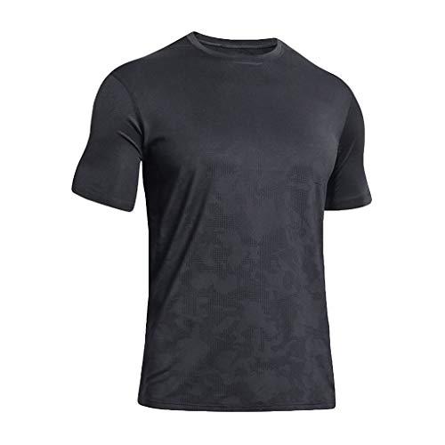 Oyedens Herren Summer Fitness Tshirt, Schnell Trocknendes Kurzarmshirt Tshirt Tops Tee Shirt Bluse -