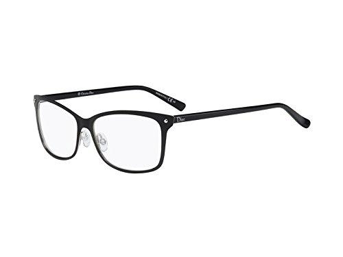 Dior Für Frau Cd3776 Semimatte Black Metallgestell Brillen
