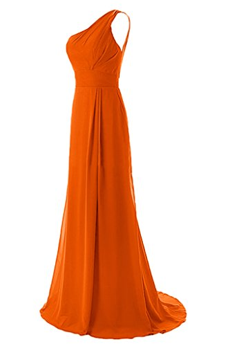 Missdressy - Robe - Plissée - Femme Orange