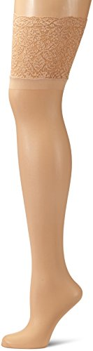 Leg Avenue - 9750Q07004, Giarrettiera da donna, beige (chair), Plus size