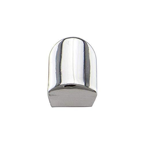 Schmuck Mode Tragbare Einzelzahnkappe Vergoldet Hip Hop Stil Zahn Grill Kappe (Farbe: Silber) - Silber Zähne Kappen