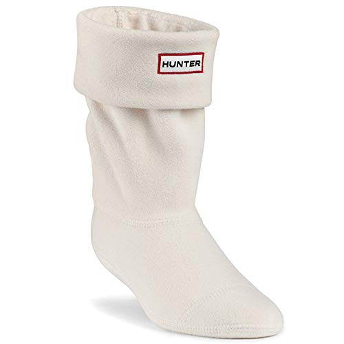 Hunter Kids Boot Sock Cream Textile Extra Large / 36-38 EU (Xl Hunter Socks Kids Boot)