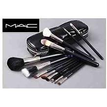 Mac - Juego de 12brochas/pinceles de maquillaje profesional en estuche con cremallera