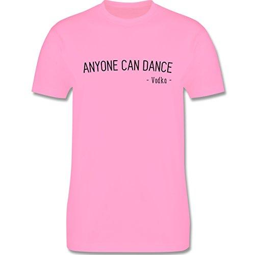 Statement Shirts - Anyone can dance - Vodka - - Herren Premium T-Shirt Rosa