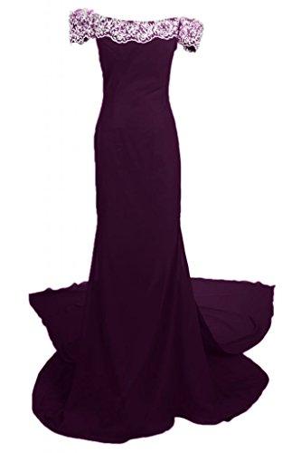 Sunvary donna elegante, per abiti da sera o da cerimonia, con fodero Off-The-spalla, con lacci Grape