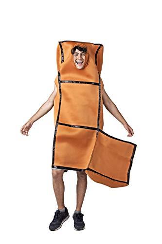 Costumizate! Tetris Kostüm für Erwachsene speziell für Kostümpartys und Karneval Fasching Einheitsgröße (Tetris Kostüm)
