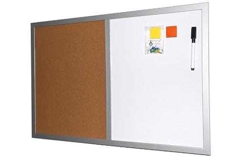 Magnet-Kork Memoboard Pinnwand 40 x 60cm mit 2 Magneten und Boardmarker