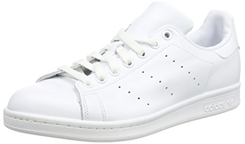 adidas Originals Stan Smith S75104, Herren Low-Top Sneaker, Weiß (Ftwr White/Ftwr White/Ftwr White), EU 42 (Smith Stan Schuhe Adidas)