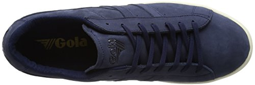 Gola Aztec Nubuck Marine / Blanc Cassé, Sneaker Uomo Blu (bleu Marine / Blanc Cassé Bleu)