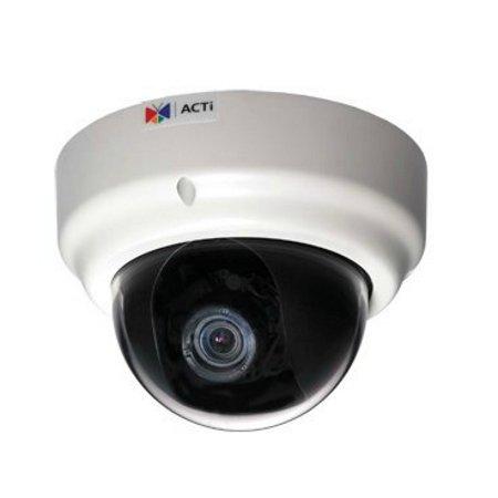 ACTi KCM - 3311 Indoor Dome Kamera (4 MP, PoE - Camara Vigilancia Ip