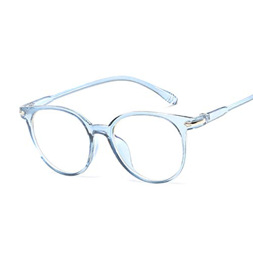 Kjwsbb Weinlese-rosa Damen-Brillen-Katzenauge-Klarglas-Rahmen-Glas-Frauen-Brillen-Rahmen-optisches Schauspiel