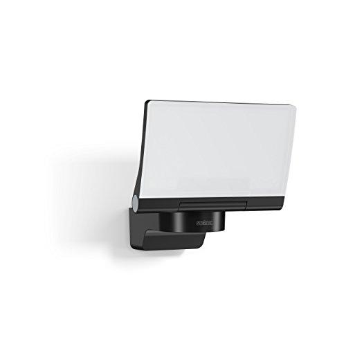 Steinel LED-Strahler XLED Home 2 Slave schwarz, 14.8 W Flutlicht, voll schwenkbar, 1184 lm, für Einfahrt, Hof und Garten