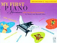FABER MUSIC MY FIRST PIANO ADVENTURE WRITING BOOK C (SKIPS ON THE STAFF)   FABER PIANO