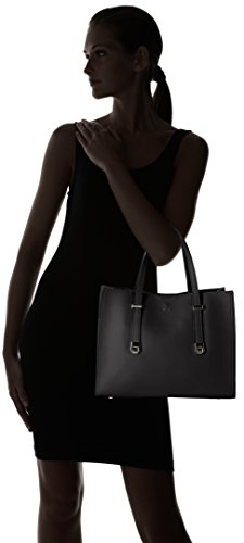 David Jones - Cm3755, Borse Tote Donna Nero (Black)