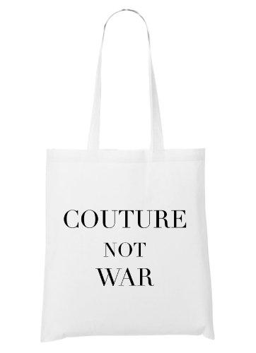 Couture Not War Sac Blanc