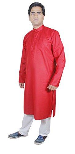 Indische Kleidung Herren Stickerei Stoff Schlafanzugoberteile Hochzeit Kleidung Herren Größe - 107 cm