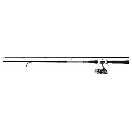 Daiwa–Set canna da pesca SWEEPFIRE + mulinello DF Spinning, speciale da lancio con esca, 2m10 + DF2000A