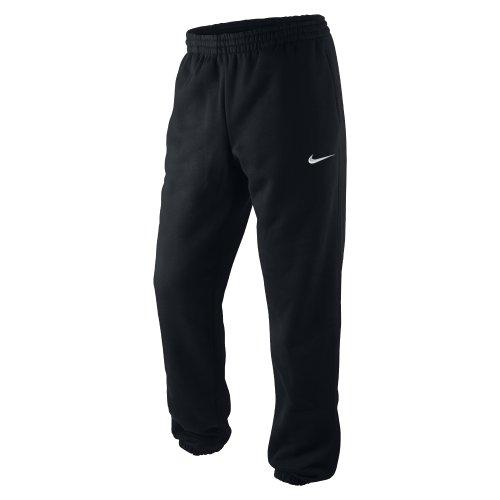 Nike Herren Jogginghose Squad Fleece, black/white, XL, 410191-010,