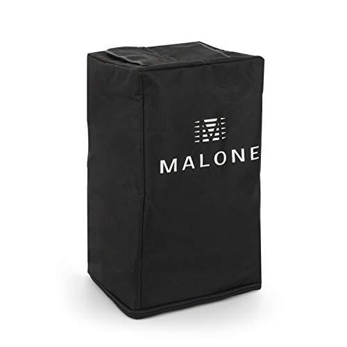 """Malone PA Cover Bag 8 für PA-Lautsprecher Boxen • Nylonschutzhülle • Lautsprecher-Abdeckung • 8\"""" Schutzhülle • Nylon • Reißverschluss • Lasche für Trage-Griff • 24 x 38 x 18 cm (BxHxT) • schwarz"""