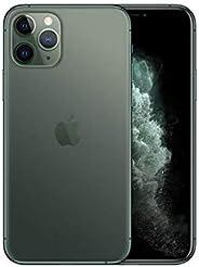 Apple iPhone 11 Pro with FaceTime - 64GB, 4GB RAM,4G LTE, Midnight Green, Single SIM & E