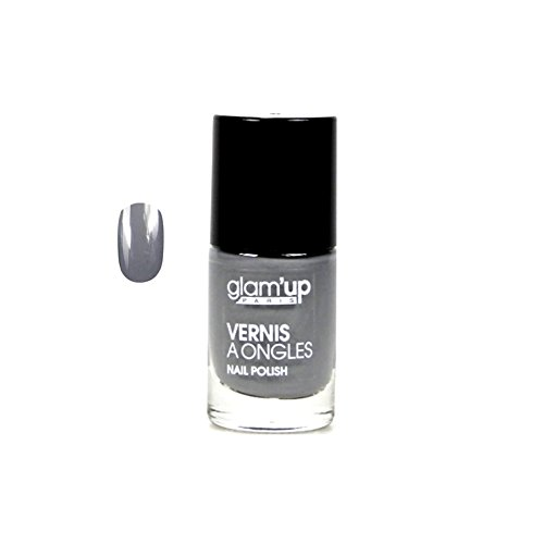 GLAM UP - Vernis à ongles - Gris Perle - Fabrication Européenne