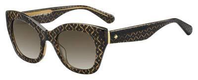 Kate Spade Jalena/S Sunglasses-(0305HA) Brown Hontwe/Brown Gradient-49mm