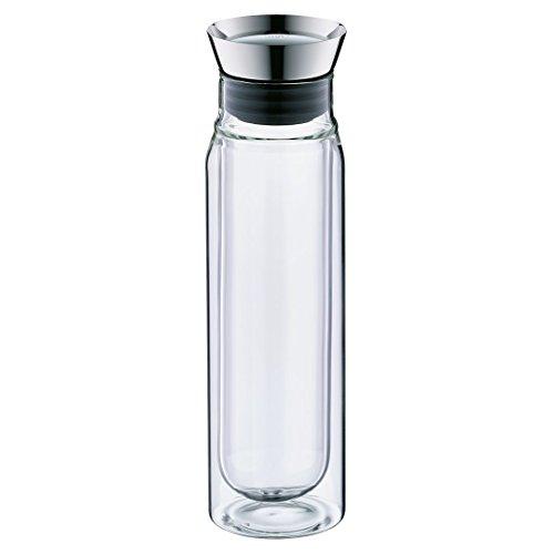 Alfi 2427020075 Karaffe flowMotion, Borosilikat-Glas doppelwandig 0,75 L