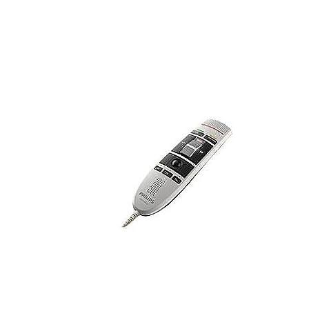 Philips, LFH3210 SpeechMike USB-Diktiermikrofon Schiebeschalter-Bedienung