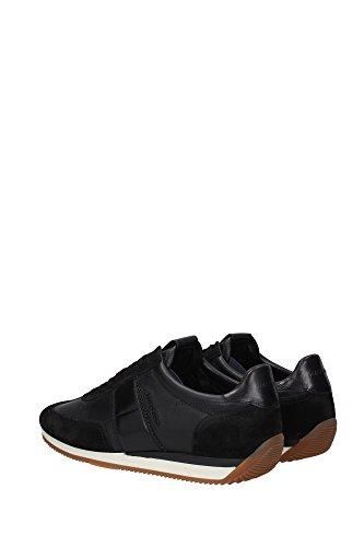 J0948TCWNNEP Tom Ford Sneakers Homme Cuir Noir Noir