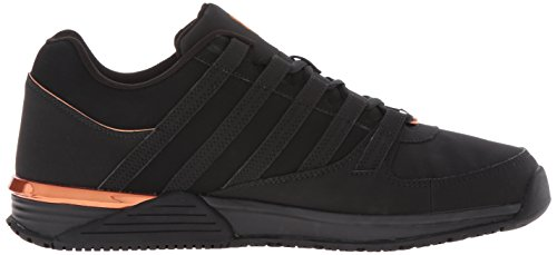 K-Swiss BAXTER, Sneakers basses homme Noir