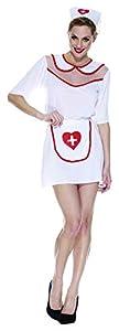 Rubies Intex-it30306-s disfraz para Adultos enfermera, S