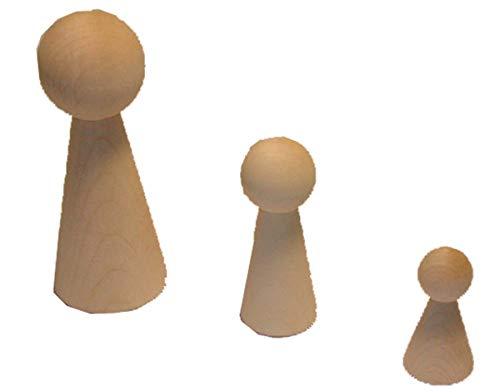 Figurenkegel 10 cm de large