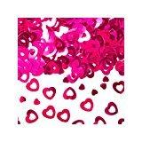 Amscan - Coriandoli a Forma di Cuore, 15 g, Colore: Rosa