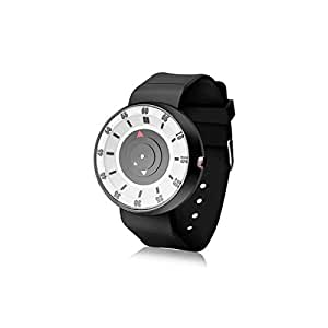 TIMESPACE TS-4020 Unique Arrow Silicon White Analog Men's & Boy's Watch