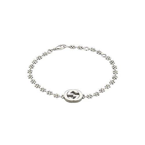 Gucci Damen-Armband 925 Silber 18 cm - YBA48168700100U
