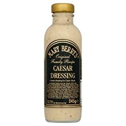 Mary Berry Caesar Salad Dressing, 235ml - Great For Pasta, Salad & Coleslaw