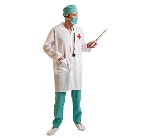 Imagen de disfraz de médico cirujano para hombres