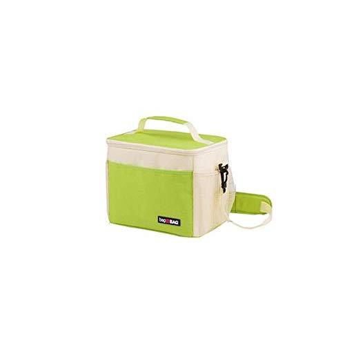DYTJ-Lunchbox Bento Box Brotdose Lässige, Superisolierte Lunch-Tasche Mit Großem Fassungsvermögen Für Den Außenbereich, Umweltfreundliche Und Umweltfreundliche Nylontasche, Rot, Grau, Blau, Mehrfach (Bento-lunch-box Mit Träger)
