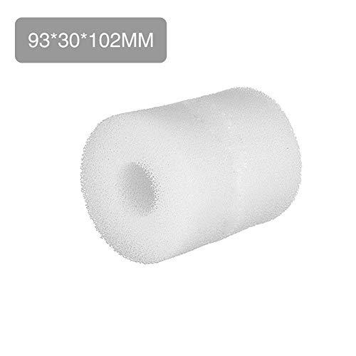 azurely Schwimmbeckenfilter, Verwendung Für Intex-Schwimmbeckenfilter Für Intex Typ S1 Wiederverwendbarer/Waschbarer Schwimmbeckenfilter-Schaumpatronenschwamm -