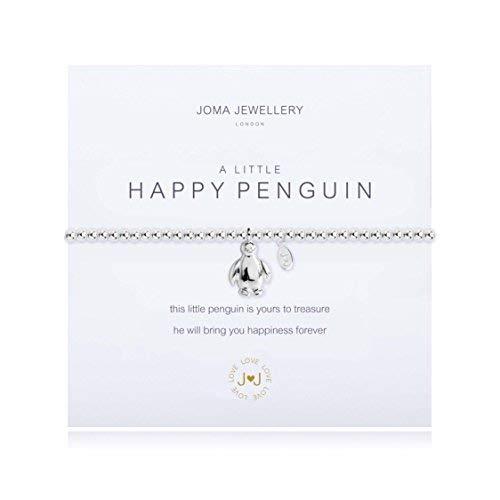 (Armband von Joma Jewellery mit kleinem fröhlichen Pinguin)