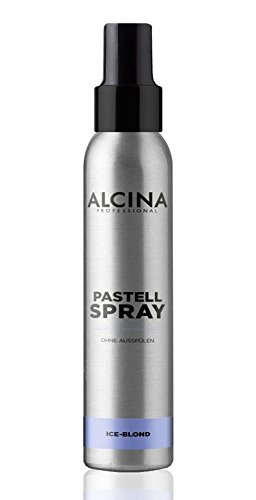 Alcina Pastell Spray Ice-Blond 100 ml Neutralisiert Gelb- & Orangestiche im Haar